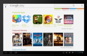 tablet play store